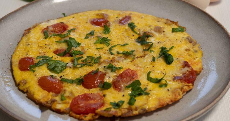 Omlet z serem (wege)