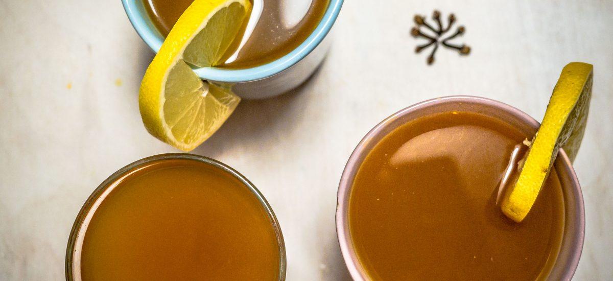 Herbata na zdrowie – z imbirem i kurkumą