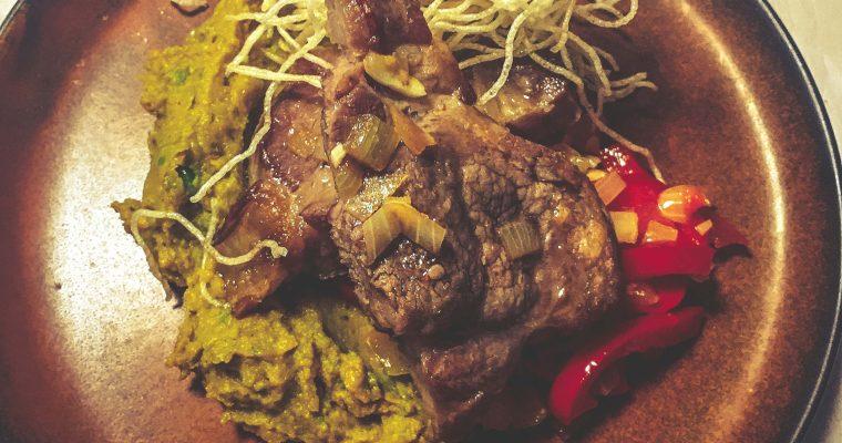 Domowy steak z karkówki