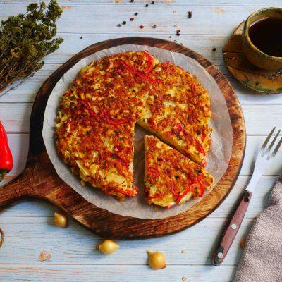 Omlet z kapustą